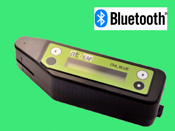 atLEAF CHL BLUE chlorophyll meter with Bluetooth and USB
